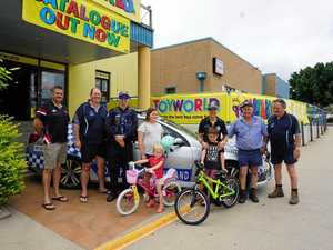 Cyclists rewarded for riding safe