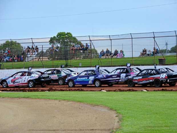 ON TRACK: Kingaroy Speedway ready to race on Saturday night.