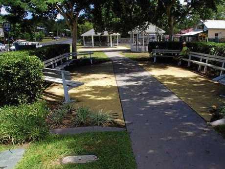 Imbil Memorial Park on Yabba Creek Rd.