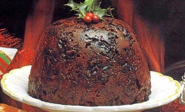 Gluten Free Plumb Pudding.