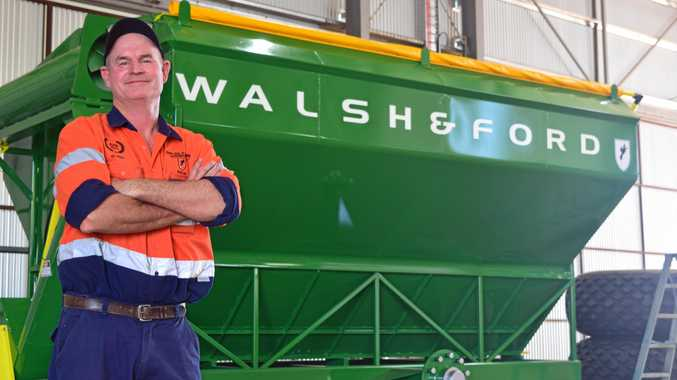 ON THE UP: Pete Walsh believes there is positive period on the horizon for Dalby businesses.