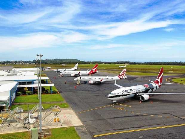 FLIGHT PATH: Tumbling airfares continue to add value to Coffs Harbour as a holiday destination.