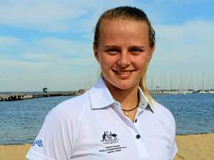 Sailboarder Lea joins international youth ranks