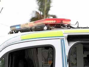 Elderly man injured after car smashes into power pole