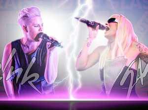 P!nk vs Gaga: sing-off in Evans Head