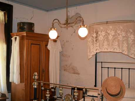 The interior of the historic building will be repainted, a job that is long overdue.