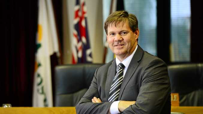 Suspended Ipswich council officials, CEO Jim Lindsay (pictured) and Craig Maudsley, are still directors on council-owned company boards.