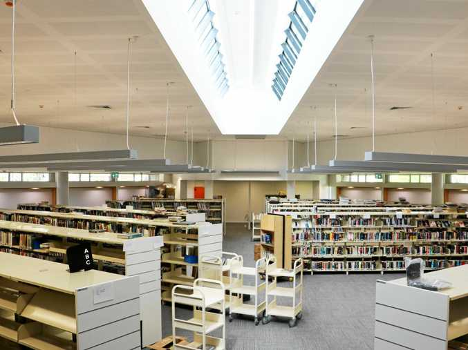 The newly upgraded Tweed Heads Library is getting ready to be reopened on Friday.