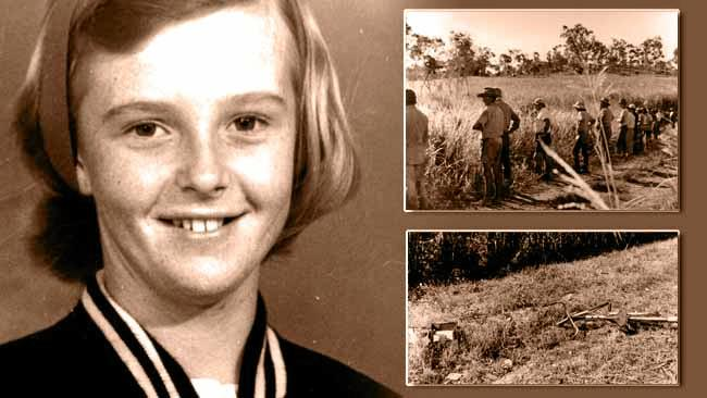 A 14-year-old Marilyn disappeared on March 21, 1972 near Wallmans and Eimeo roads on her way to catch the school bus.