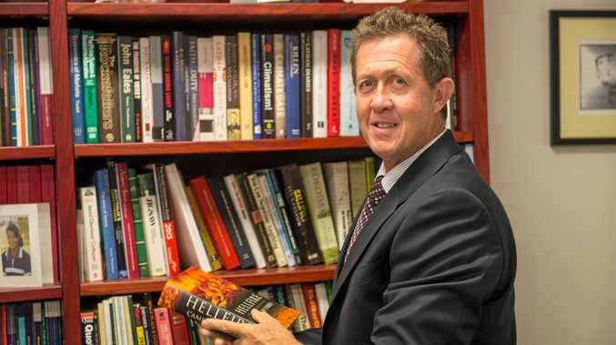 Federal member for Cowper Luke Hartsuyker.