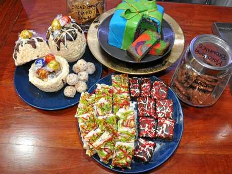 Some of Kat's homemade festive treats.