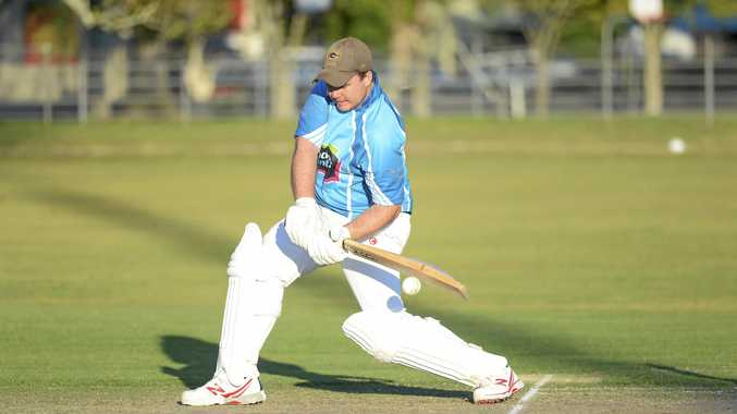 UNBEATEN: Coutts Crossing's Lewis Chevalley is in rare form with the bat at the moment.