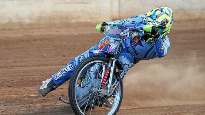 Maryborough rider Joel Coyne.