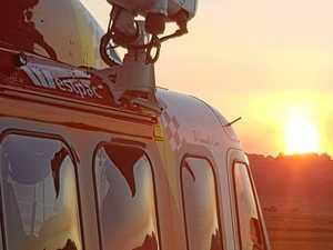 Chopper finds stranded paddler at Red Rock