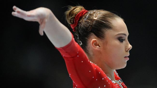 US gymnast McKayla Maroney competes at the 2013 world championships.