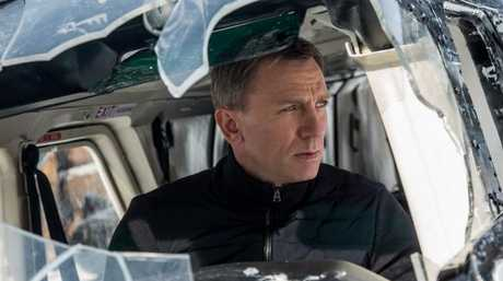 Daniel Craig in a scene from Spectre.