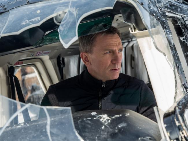 Daniel Craig in a scene from Spectre.