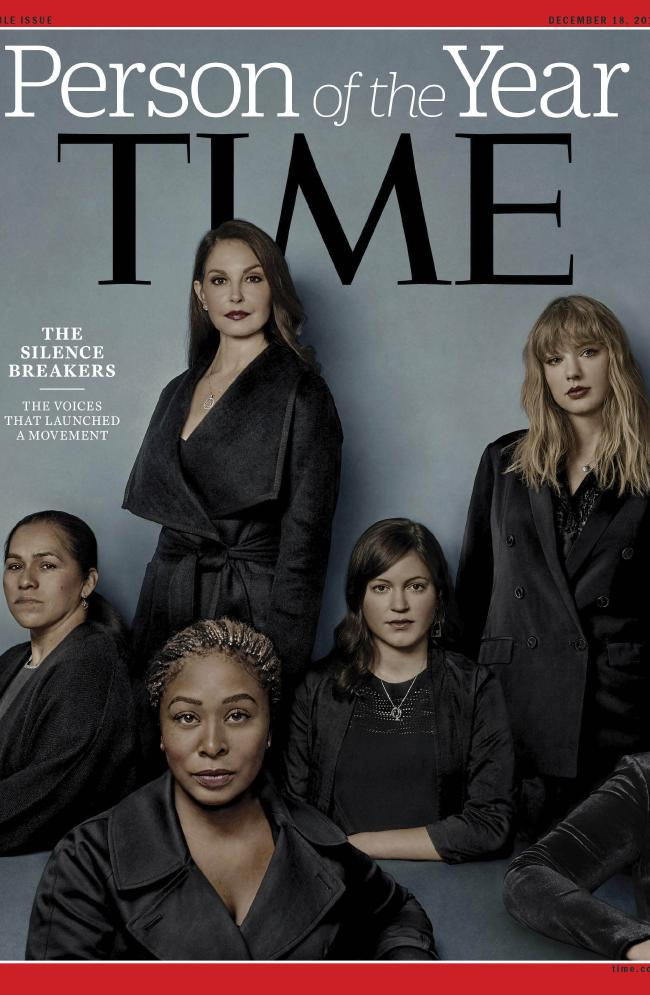 Time magazine has named Silence Breakers and the #MeToo victims as its Person of the Year.