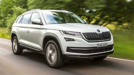 The Swiss Army Knife of cars: Skoda Kodiaq. Pic: Thomas Wielecki.