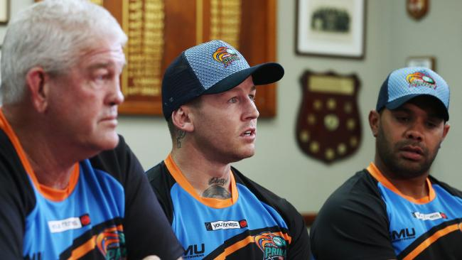 SUPPORTIVE: The Northern Pride are open to the prospect of losing former Dally M medalist Todd Carney before he's an played a game with the Intrust Super Cup club. Picture: BRENDAN RADKE
