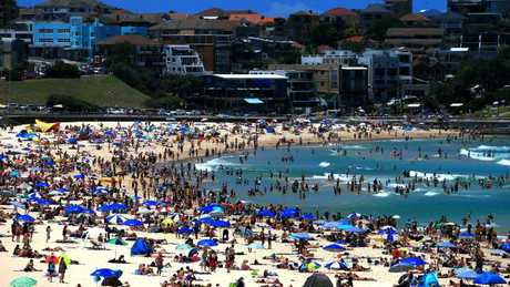 Looking forward to this on Christmas Day in Bondi? Picture: Dylan Robinson