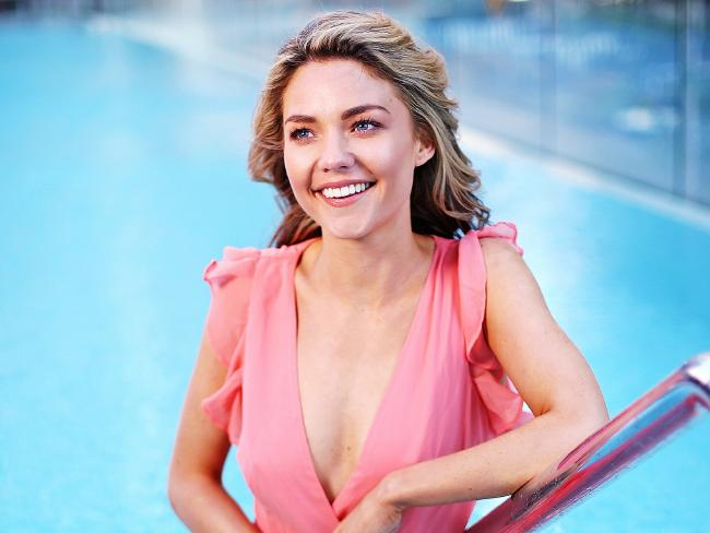 Sam Frost says she feels proud that her hard work has paid off.  Picture: Sam Ruttyn.