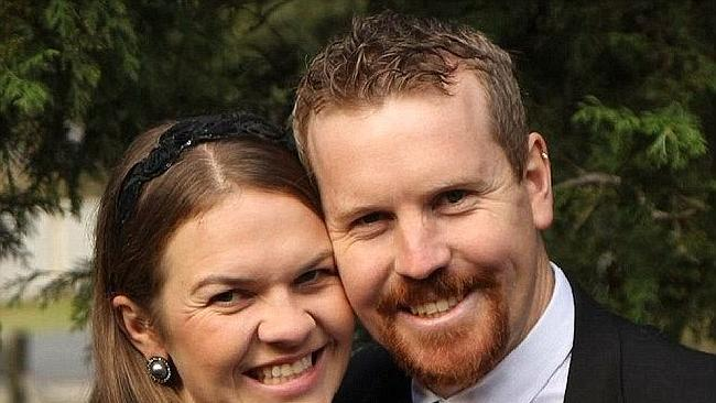 Nick and Sarah Jensen vowed to divorce if same-sex marriage became legal. Picture: Supplied