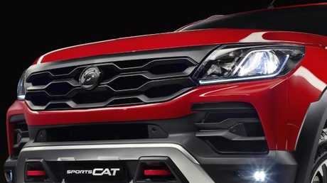 The front end has had a major restyling from the base model. Pic: Supplied.