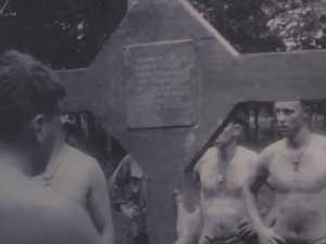 Cross of Long Tan returned to Australia