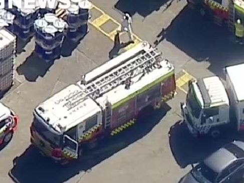 Man dies after falling into tank of hot ink