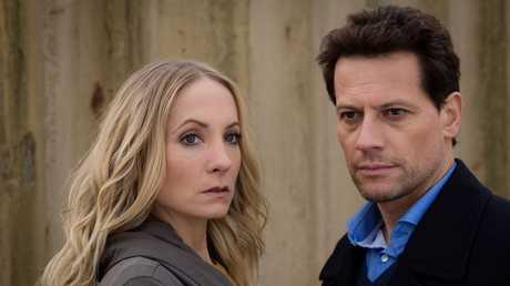 Joanne Froggatt and Ioan Gruffudd star in the TV series Liar.