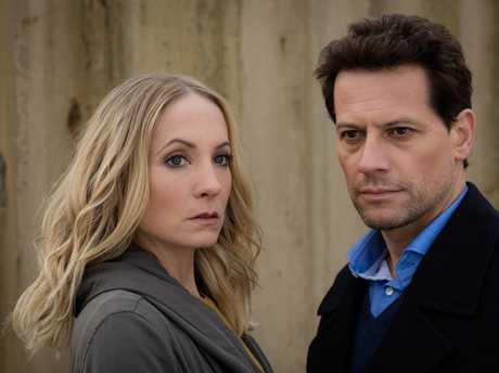 Joanne Froggatt and Ioan Gruffudd star in the TV series Liar.