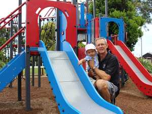 Peter Fydler and his grandson Kai can't enjoy the