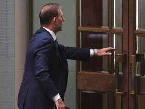 Tony Abbott's cowardly act