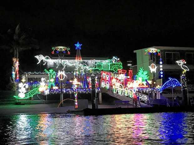 NIGHT LIGHTS: The 14th annual Mooloolaba Christmas Boat Parade is on December 16 along the Mooloolah River.