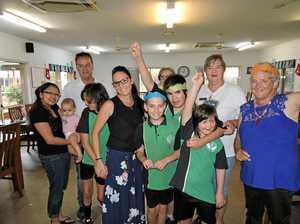 Maryborough Special School visit Seniors Village