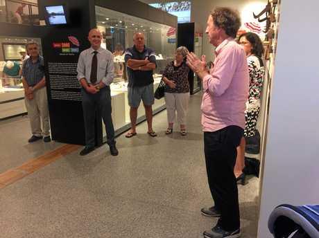 THE HOST of the popular Sunday ABC Radio show, Australia All Over, Ian 'Macca' McNamara visited Murwillumbah on Thursday.