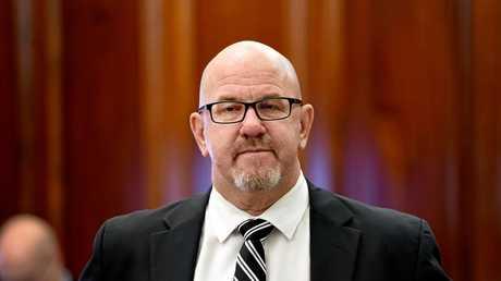 Fraser Coast Regional Council meeting, Maryborough.  CEO Ken Diehm.