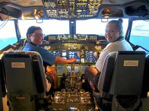 Indigenous students get a taste of life in the sky