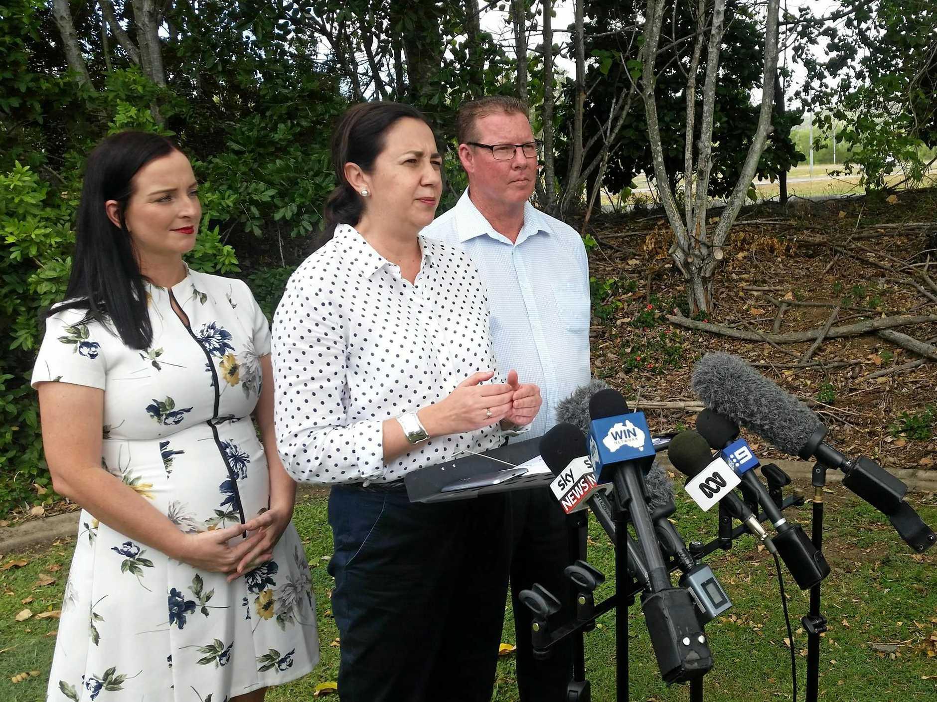 PREMIER VISIT: Queensland's Premier Annastacia Palaszczuk visited Rockhampton twice during the recent election campaign.