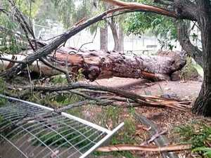 STORM DAMAGE: Lucky escape for Southern Downs school