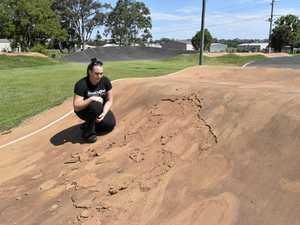 BMX club reeling after track damage