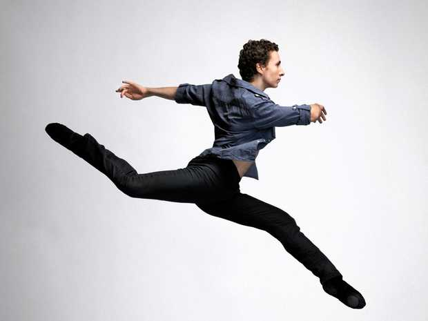 BIG YEAR: Former Gladstone dancer, Daniel Kempson has been promoted to company dancer with the Queensland Ballet for next year.