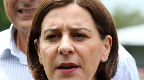LNP deputy leader Deb Frecklington is now chasing the top job. Picture: Stewart McLean