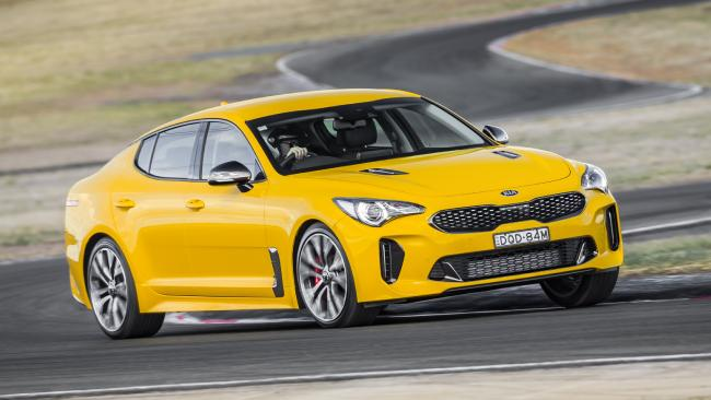 Stinger: Practical cabin and twin-turbo V6.