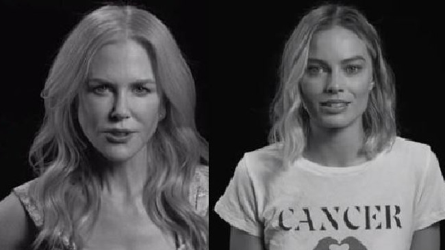 Margot Robbie and Nicole Kidman say they won't be silent on sexual abuse. Picture: W Magazine