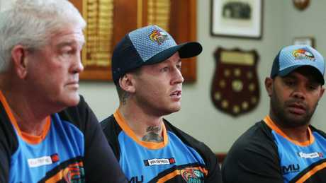 Former Dally M medallist Todd Carney has arrived in Cairns.