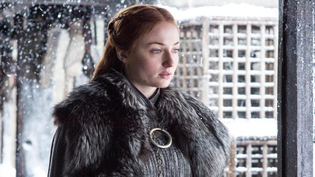 Sophie Turner (Sansa Stark) has accidentally revealed when Game of Thrones' season eight will return.