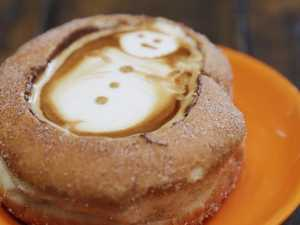 Coffee in a donut cup? Sign us up