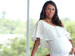 IT'S A BOY: Turia Pitt 'would like you to meet someone'